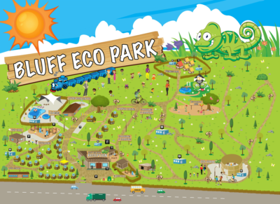 Bluff Eco Park Map